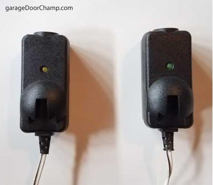 How To Fix Garage Door Sensor Orange Light - Garage and ...