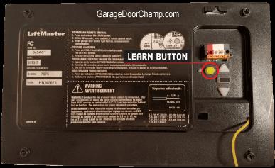 Program Your Garage Door Opener To Your Car Champion